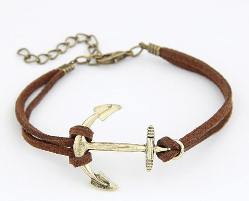 Korea Fashion Personality Anchor Bracelet